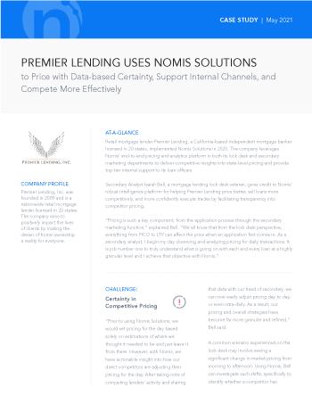 Premier Lending Case Study
