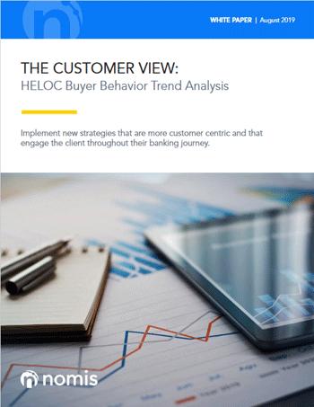The Customer View: HELOC Buyer Behavior Trend Analysis Cover